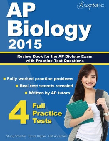 Ap Biology 2015: Review Book For Ap Biology Exam With Practice Test Questions