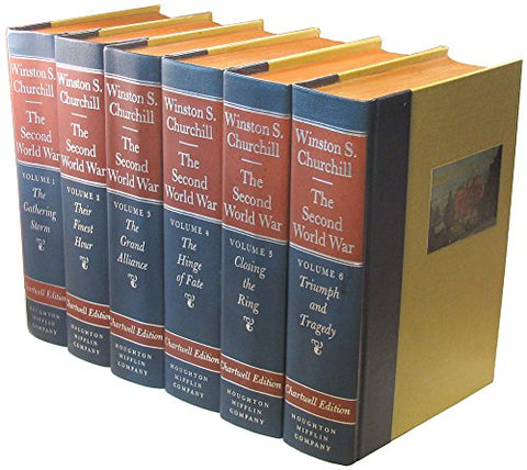 The Second World War (Chartwell Edition, 6 Volume Set)