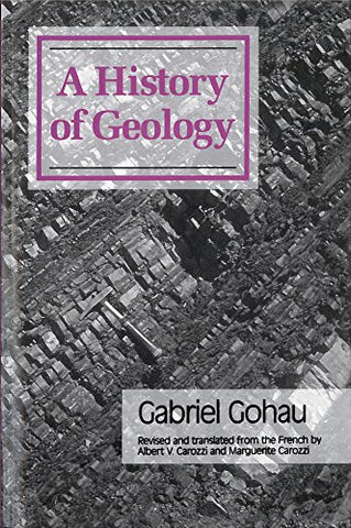 A History Of Geology