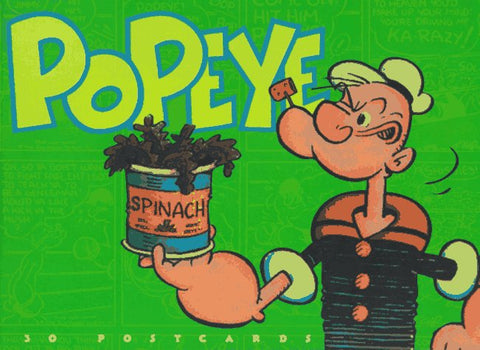 Popeye Postcard Book