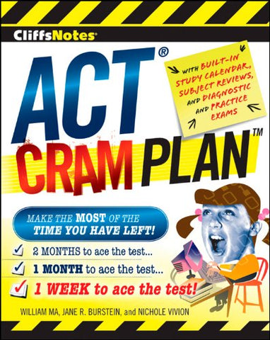 Cliffsnotes Act Cram Plan (Cliffsnotes Cram Plan)