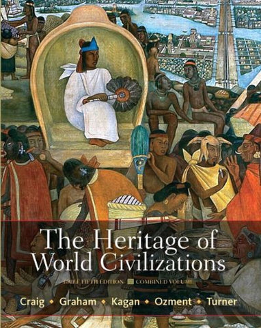 The Heritage Of World Civilizations: Brief Edition, Combined Volume With New Mylab History With Etext -- Access Card Package (5Th Edition)