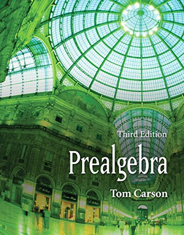 Prealgebra, Third Edition