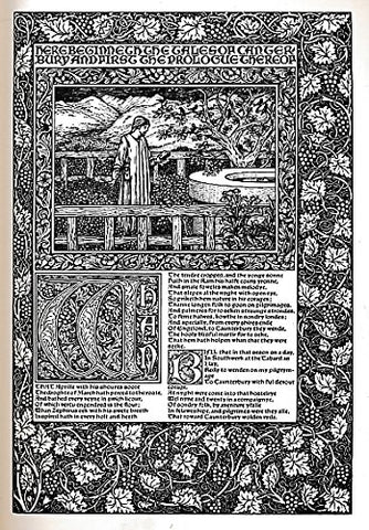 The William Morris Kelmscott Chaucer