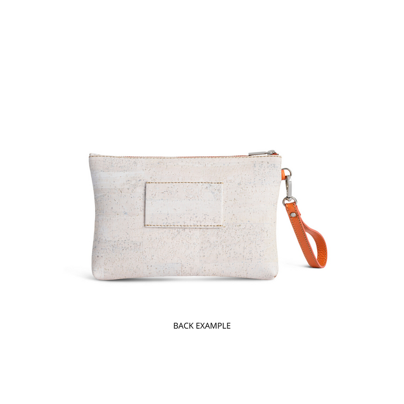 Cork Clutch Bag Modern Tiles - Shop now at StudioCork