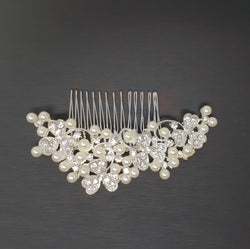 Hair Comb Slide Pearl and Cloves