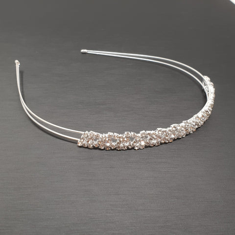 Headband lace Crystals