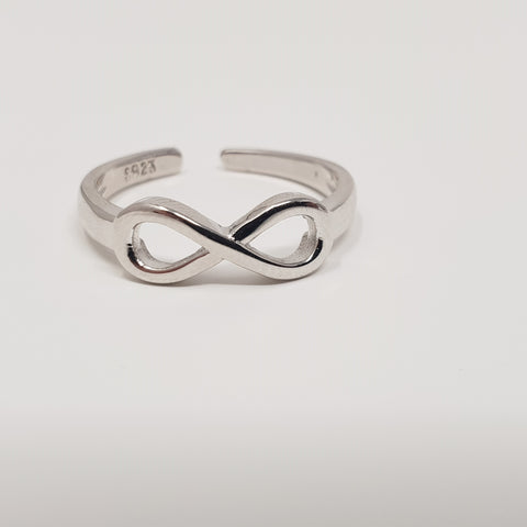 Sterling Silver Ring Celtic Infinity