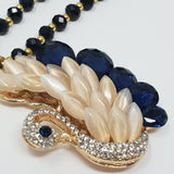 Swan Opera Necklace