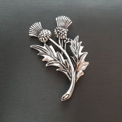 Two Thistles Brooch