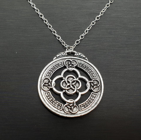 Celtic Circle Knot Necklace