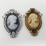 Large Cameo Brooch
