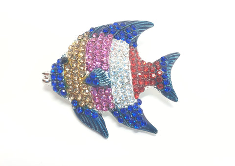 Colourful Fish Brooch