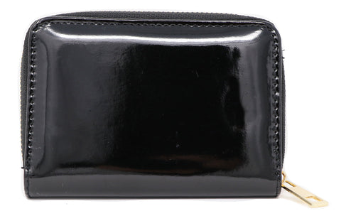 Plain Black Purse