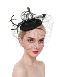 Hat Fascinator with Veil