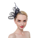 Tangled & Feather Fascinator