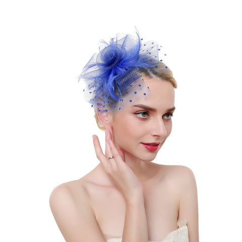 Flower & Dot Fascinator