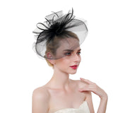 Multi Layer Tulle & Semi Cloche Fascinator