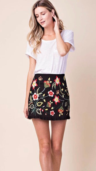 Vintage Dream Floral Skirt