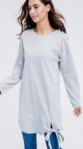 Don't Wait On It Tunic Sweater