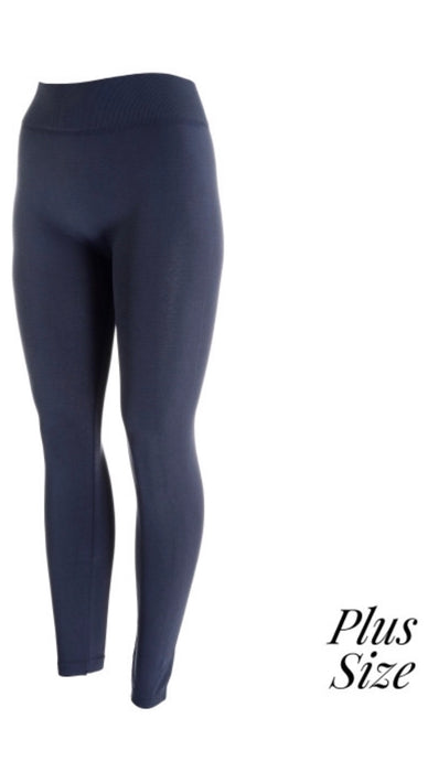 Regular Charcoal Leggings