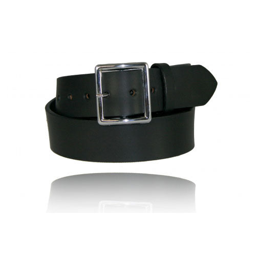 "Boston Leather 1¾"" Leather Belt"