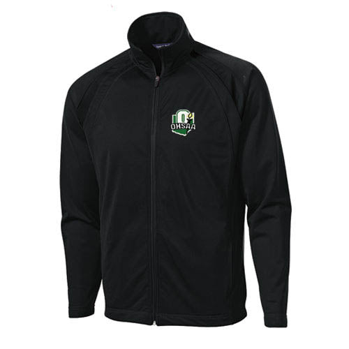 OHSAA Logo Stand Up Collar Basketball Referee Jacket