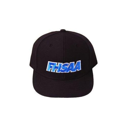 Florida FHSAA Logo Black 6-Stitch Umpire Hat