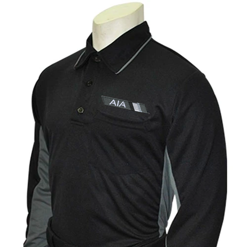 AIA Logo Long Sleeve Baseball MLB Replica Umpire Shirts