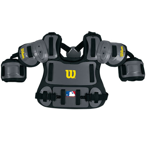 Wilson Charcoal Hard Shell Chest Protector w/ Bicep Extensions