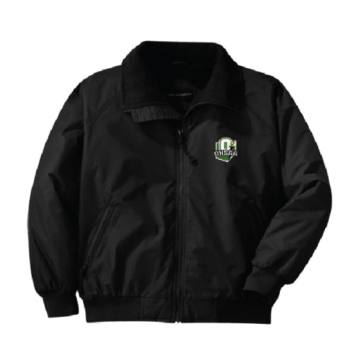 OHSAA Logo Fleece Lined Track Jacket