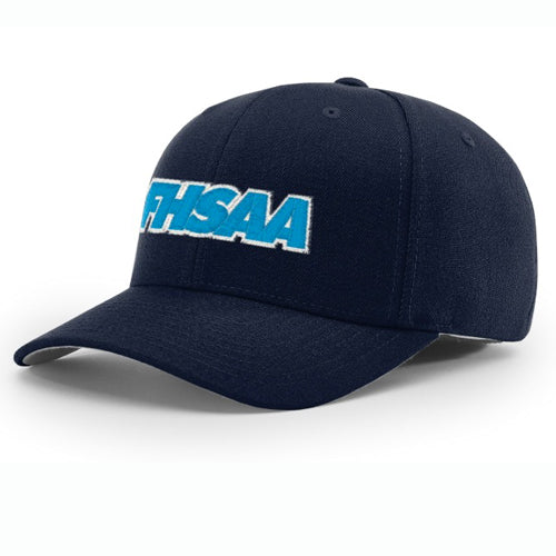 Florida FHSAA Logo Navy 4-Stitch Umpire Hat