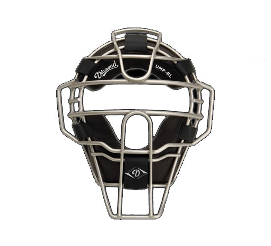 "Diamond ""Big League"" Ultra-Lite Umpire Mask w/ Full Grain Pro Style Pads"