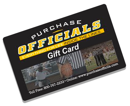 Purchase Officials Gift Card
