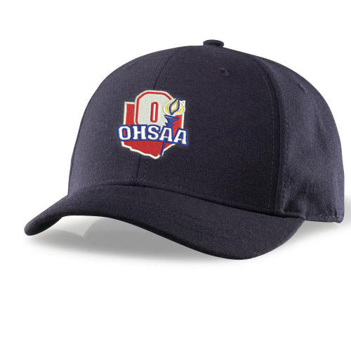 OHSAA Logo Pulse Flex Fit Umpire Hats