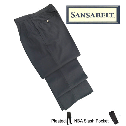 6ef49629 Sansabelt 4-Way Stretch Referee Pants — Purchase Officials Supplies