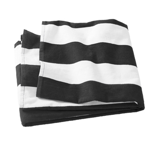 Referee Stripe Game Day Towel