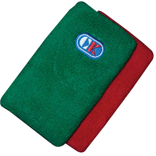 Cliff Keen Red/Green Wrestling Wristbands