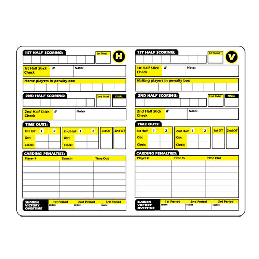 Ref Smart Women's Lacrosse Card