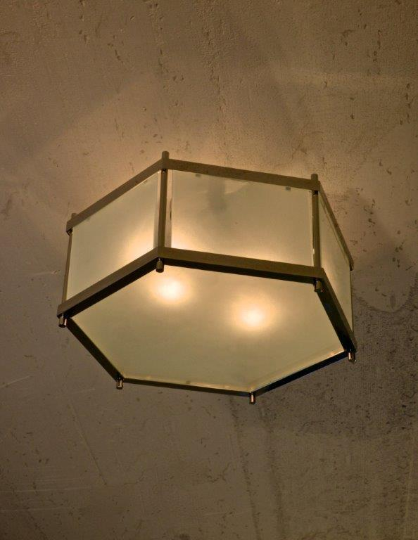 Archer Hexagon Ceiling Fixture