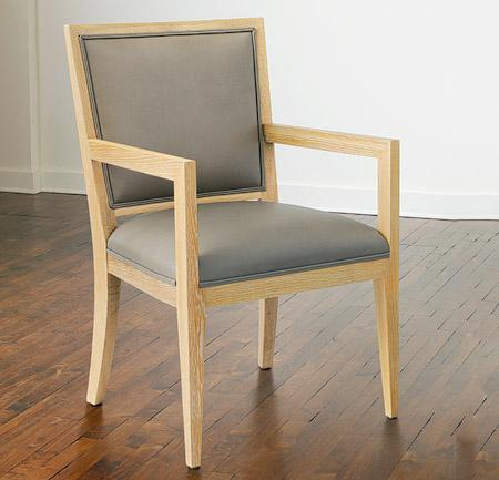 Frank Dining Chair w/ Open Arms