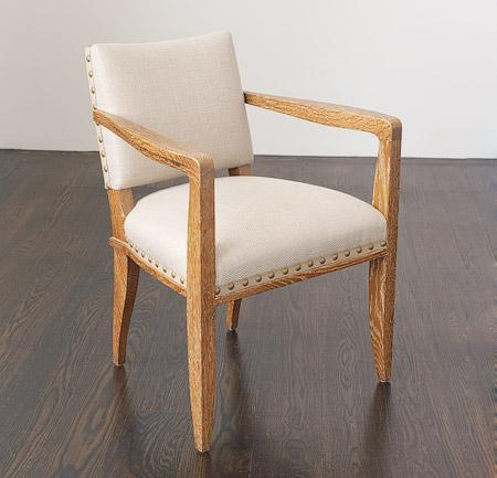 Bas Dining Chair with Arms