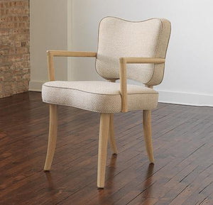 Royere Dining Chair with Arms