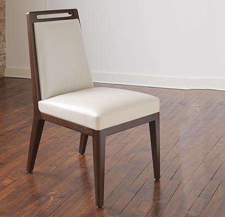 Fente Armless Dining Chair