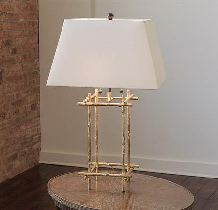 12 Stick Table Lamp
