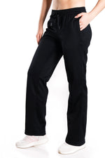 Yogipace, Petite/Regular/Tall, Women's Fleece Water Resistant Running Cycling Skiing Snow Pants (Black)
