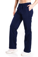 Yogipace, Petite/Regular/Tall, Women's Fleece Water Resistant Running Cycling Skiing Snow Pants (Navy blue)