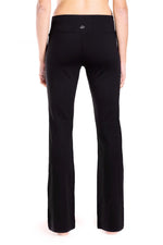 "Yogipace, 27""/28""/29""/30""/31""/32""/33""/35""/37"", Women's Bootcut Yoga Pants (Black)"