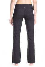 "Yogipace, 27""/29""/31""/33""/35""/37"", Women's Bootcut Yoga Pants (Charcoal)"