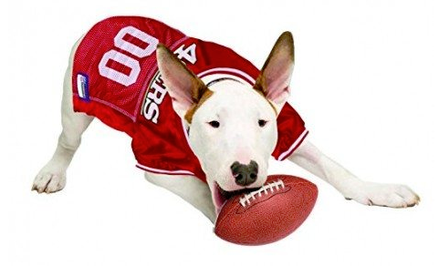 competitive price 20253 421c3 San Francisco 49ers Dog Jersey
